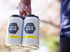 Pilot Coffee Roasters – Nitro infused Cold Brew Coffee in a can – packaging (Toronto)