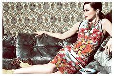 Andrea Riseborough in Vogue Italia by Tom Munro