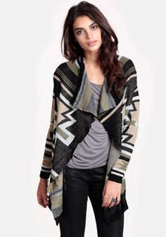 One With Nature Cardigan at #threadsence @ThreadSence