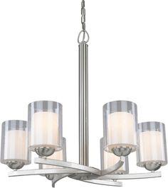 Woodbridge Lighting Cosmo Indoor Lighting Chandelier 12186-STN