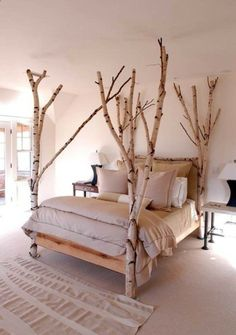 amazing redecorating bedroom ideas birch treebed #decor #interiors