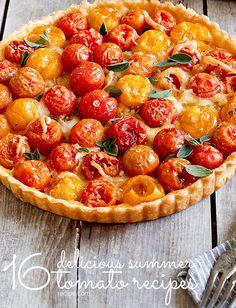 16 Delicious Summer Tomato Recipes