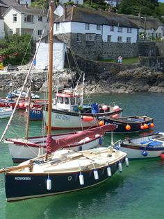 Coverack, south Cornwall, English coast