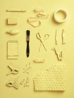 The objects of my profession: prop stylist. Still life Stylist Sarah Akwisombe, photographer Dan Annett
