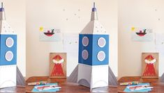 6x simpele Sinterklaas surprise gemaakt van een melkpak Toot, Crafts For Kids, Alice, Kids Rugs, Holiday Decor, Diy, Home Decor, Montessori, Unicorn