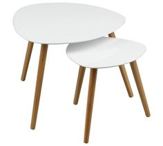 Buy Premier Housewares Nostra Nest Of 2 Tables