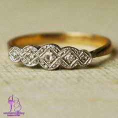 Lovely Antique Wedding Rings / 2015
