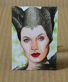 Maleficent x sketch card Maleficent 2, Indian Art Paintings, Color Pencil Art, Colored Pencils, Sketch, Drawings, Artwork, Cards, Colouring Pencils