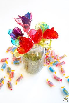 Jolly Rancher Roses: The Prettiest Way To Have Your Bouquet And Eat It, Too!
