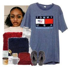 """""""Rainy Monday """" by jemilaa ❤ liked on Polyvore featuring Gap, UGG Australia, Woven Workz, Case-Mate, Bloomingville and Laura Mercier"""