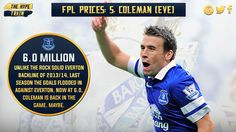 The newly price 6.0 million defender, who nabbed 3 goals last term, could be a big #FPL player this season. Perhaps.
