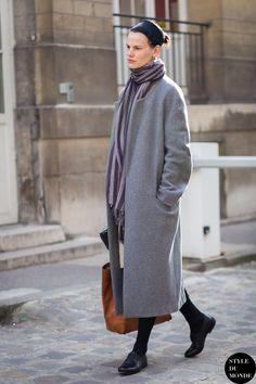 Saskia de Brauw Street Style Street Fashion Streetsnaps by STYLEDUMONDE Street Style Fashion Blog