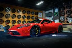 Ferrari 458 Speciale by Luxury Custom with ADV.1 Wheels