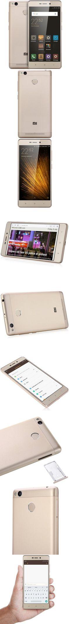 Xiaomi Redmi 3S 16GB ROM 4G Smartphone GLOBAL VERSION + UK PLUG-$153.14