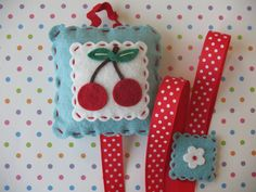 Hey, I found this really awesome Etsy listing at https://www.etsy.com/listing/101075466/cherry-hairbow-holder