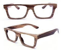 3b2dc79cf9 Items similar to TAKEMOTO KNIGHT handmade vintage zebra wood glasses  eyeglasses sunglasses on Etsy