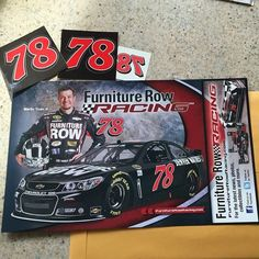 """Martin Truex, Jr. Hero Cards are HERE. If you're in the U.S., get yours by sending a self addressed, 9""""x12"""" envelope pre-stamped with $1.33 return postage to: Furniture Row,  Attention: Digital Marketing,  5603 N. Broadway, Denver, CO 80216.  Outside U.S., please add additional postage to $1.33 necessary when mailing your pre-stamped envelope. Thank you."""