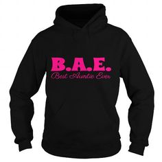 Cool BAE Best Auntie Ever Womens T Shirt T shirts