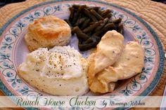 Mommy's Kitchen: Ranch House Crock Pot Chicken