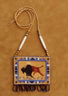 Image result for beaded buffalo