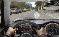 As the name suggests Mini Augmented Vision comes in the form of smart glasses. A working prototype of Mini Augmented Vision was exhibited at the recent Shanghai Auto Show.