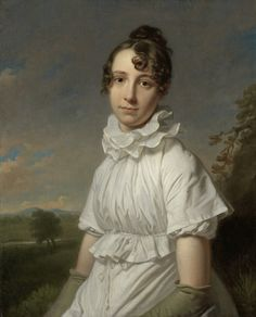 Portrait of Emma Jane Hodges by Charles Howard Hodges, c.1810 Rijksmuseum