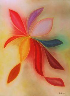 Elegant, Pastell auf Papier, BxH 36x48 cm, Dino Buchmann