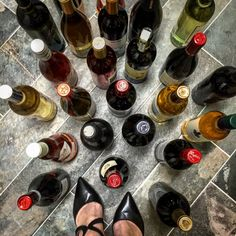 """I get a lot of """"what should I drink with…"""" questions. While there are many apps, guides, infographics, and articles out there, I happily oblige with my biased opinion on what the… White Wine, Red Wine, French Wine, Italian Wine, Sauvignon Blanc, Sparkling Wine, Prosecco, Wine Drinks, Red Shoes"""