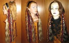 Image result for tribal hairstyles Tribal Hair, Belly Dance, Braided Hairstyles, Braids, Dreadlocks, Long Hair Styles, Image, Beauty, Bellydance