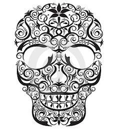 Sugar Skull Tattoo Design yes please