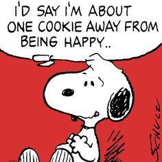 Cookies = happiness