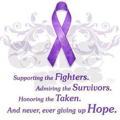 Purple is the color for ITP.