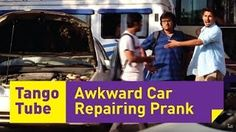"Hey guys, TANGO tube Present here latest video ""Awkward Car Repairing Prank (Funniest reactions)"" 