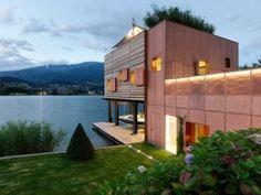 Boat House, Austria by MHM Architects