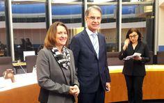 Ministar turizma Cappelli i predsjednica odbora za turizam Brehmer u Bundestagu o suradnji - http://terraconbusinessnews.com/ministar-turizma-cappelli-predsjednica-odbora-turizam-brehmer-bundestagu-suradnji/