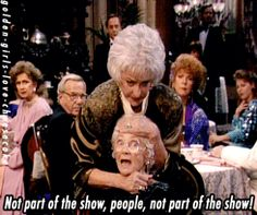 The Golden Girls...this is one of my favorite episodes!
