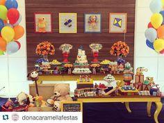 """""""Que amor    By @donacaramellafestas Brinquedos pro Vlassinhos comemorar seu primeiro aninho!!!! Blog www.inspiresuafesta.com  Instagram…"""""""