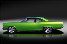 1967 Ford Fairlane GT/ - 1967 FORD FAIRLANE 500 GT CUSTOM 2 DOOR HARDTOP/ (Express`lane) View...