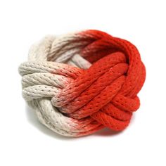 Dipped Rope Bracelet Red now featured on Fab.