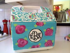 Your place to buy and sell all things handmade Cooler Painting, Southern Belle, Home Projects, Painted Coolers, Cricut, Crafty, Unique Jewelry, Handmade Gifts, Future House