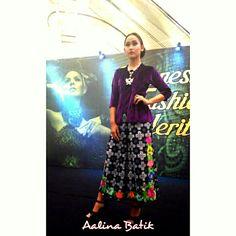 Kutubaru bludru dan Kulot Batik Bordir Beautiful with modern touch...  Dapatkan hanya di: SMS /WA +6281326570500, BBM 5B54D9C1 & D0503885, Path Aalina Batik, Line Aalina Batik, IG @aalinabatik, FB Aalina Batik.
