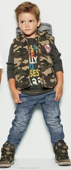 Camo outfit for toddler I wish I had a little boy