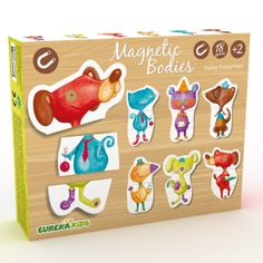 MAGNETIC PUZZLE ANIMAL | EUREKAKIDS | Toy EurekaKids