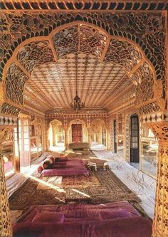 Its a Home! A room in a gorgeous   Haveli (mansion) in Rajasthan ,  India.
