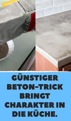 Günstiger Beton-Trick bringt Charakter in die Küche. The Effective Pictures We Offer You About grilling table A quality picture can tell you many things.