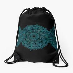 Azima's Mandhala by azimaplace   Redbubble Drawstring Backpack, Backpacks, Bags, Fashion, Handbags, Moda, Fashion Styles, Backpack, Fashion Illustrations
