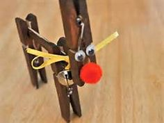 clothespin reindeer - Yahoo Image Search Results