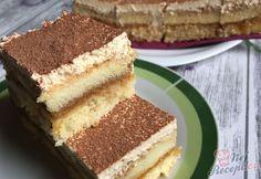 Vynikající krémový zákusek, který si zamilujete. Lepší krém od tohoto určitě nenajdete. Tedy, pokud máte rádi karamelové krémy. Tajemství vynikajícího krému spočívá zkombinovat ty nejchutnější suroviny, kterými jsou karamelové salko, tvaroh a poctivé máslo. Autor: Mineralka 20 Min, Sweet Cakes, Sweet Desserts, Vanilla Cake, Tiramisu, Food And Drink, Sweets, Baking, Rum