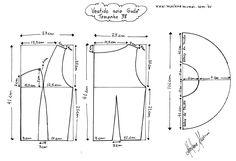 blusa transpassada molde - Pesquisa Google