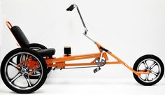 South Coast Cruzers Slingshot Recumbent Trike from Upzy Velo Tricycle, Adult Tricycle, Trike Bicycle, Recumbent Bicycle, Kids Bicycle, Cargo Bike, Eletric Bike, Beer Bike, Velo Design